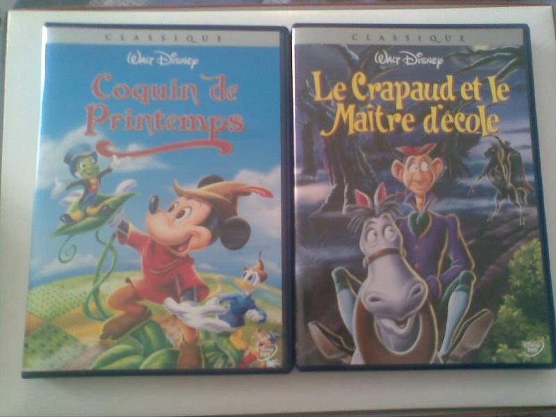 Postez les photos de votre collection de DVD et BrD Disney ! - Page 3 Photo011