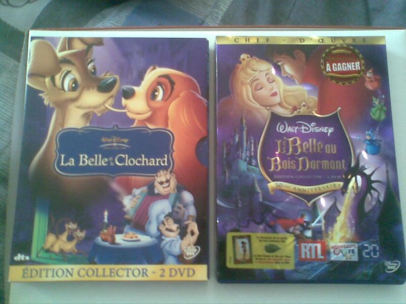 Postez les photos de votre collection de DVD et BrD Disney ! - Page 3 Photo015