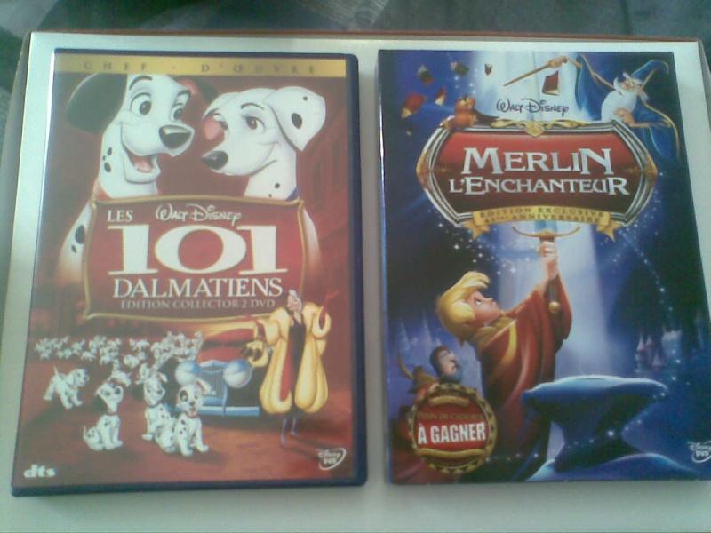 Postez les photos de votre collection de DVD et BrD Disney ! - Page 3 Photo016