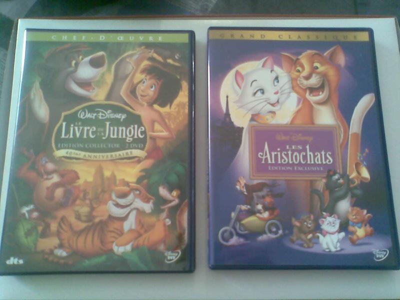 Postez les photos de votre collection de DVD et BrD Disney ! - Page 3 Photo017