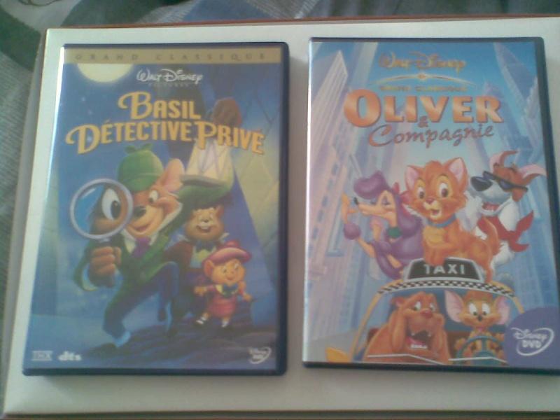 Postez les photos de votre collection de DVD et BrD Disney ! - Page 3 Photo020
