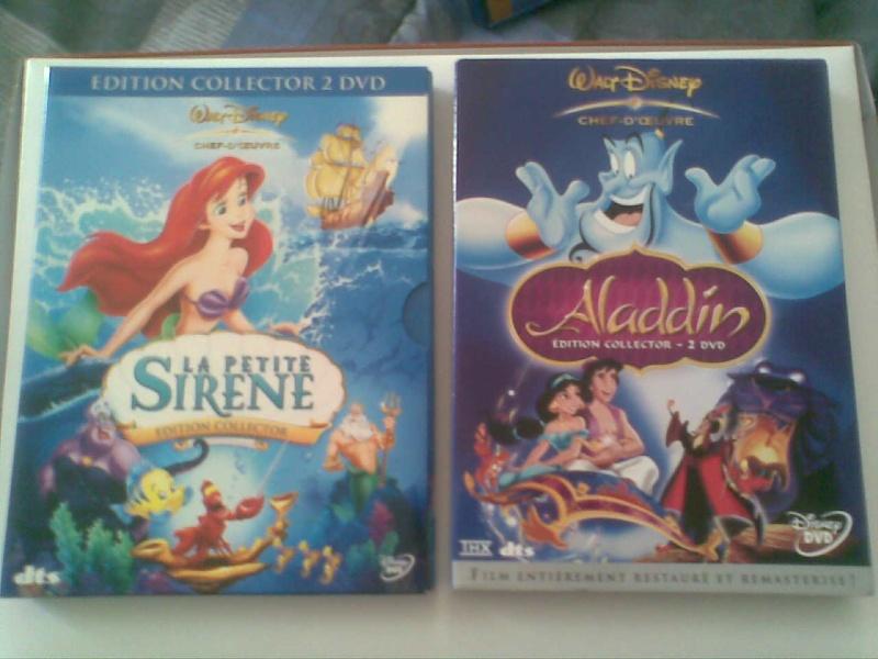 Postez les photos de votre collection de DVD et BrD Disney ! - Page 3 Photo021