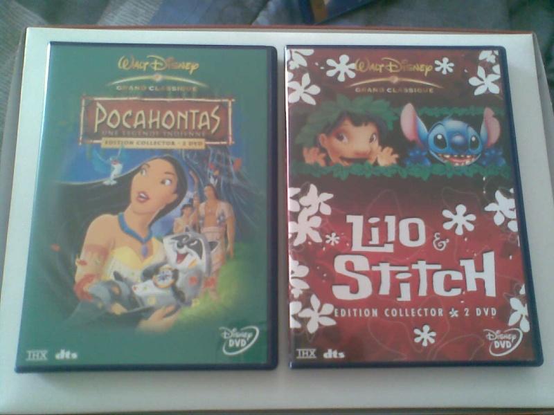 Postez les photos de votre collection de DVD et BrD Disney ! - Page 3 Photo022