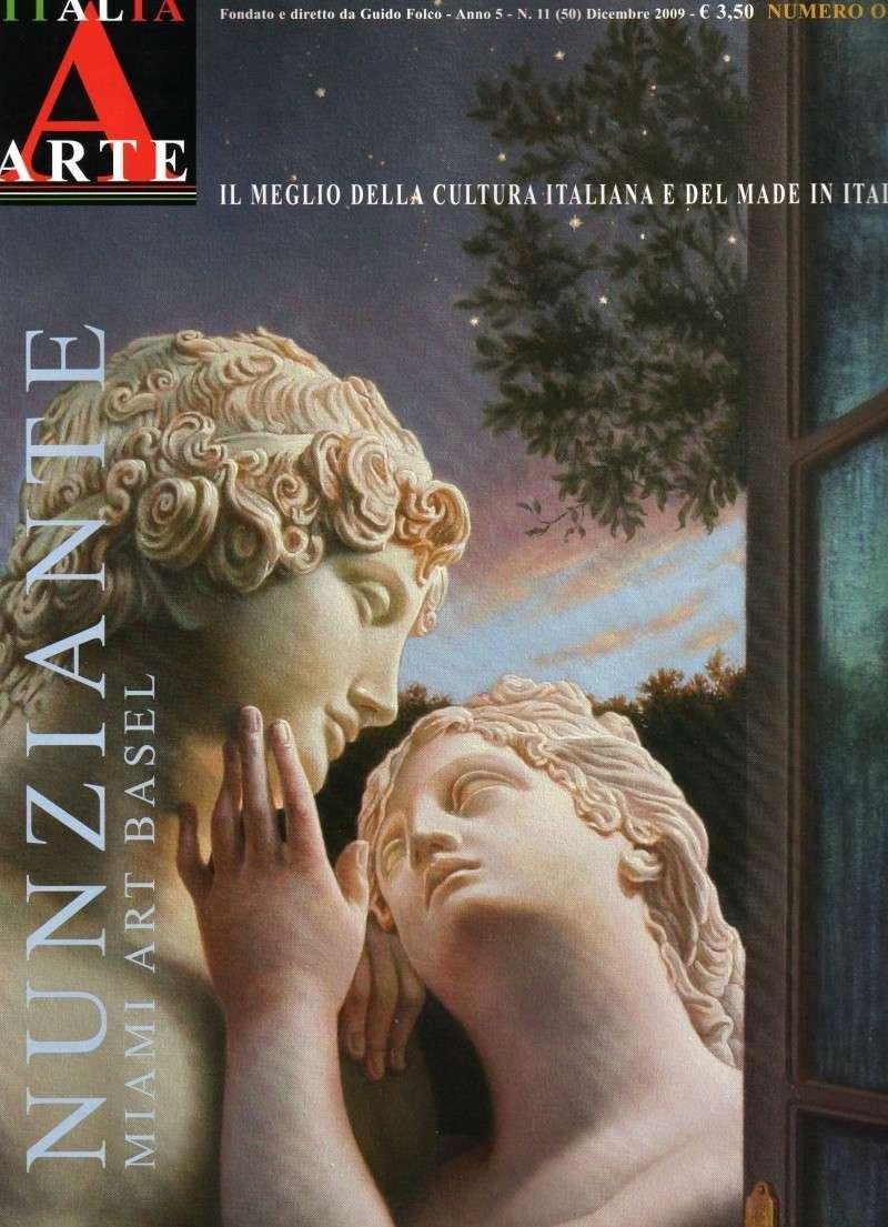 """NUNZIANTE IN COPERTINA SU """"ITALIA ARTE"""" Italia10"""