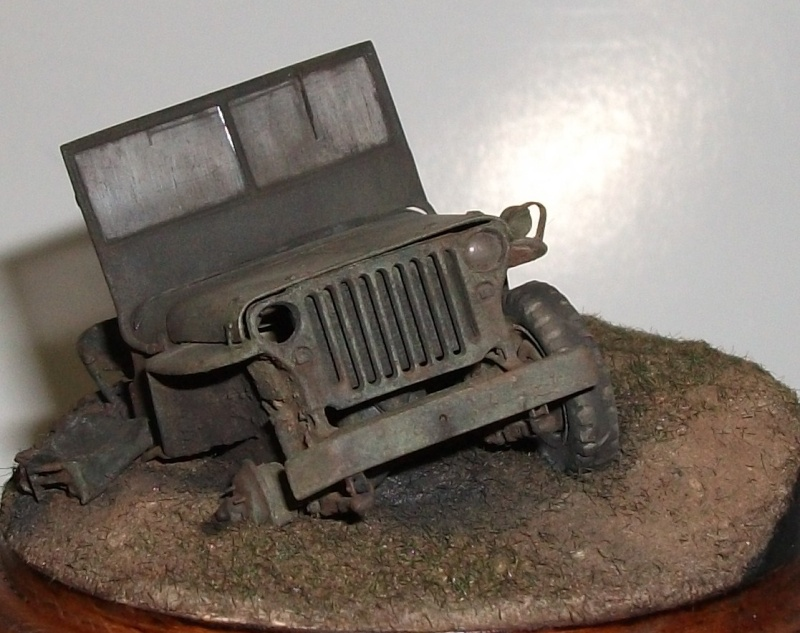 my 6th jeep and the 1st one as battle damaged Dscf1118