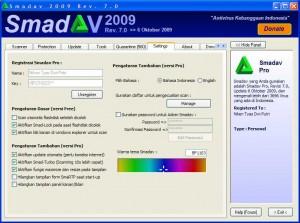 Antivirus Asli Indonesia  Smadav 2009 Rev. 7.5Smadav Rev7fi10