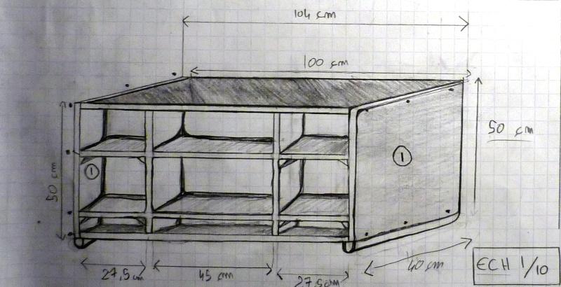 En projet -> meuble TV Meuble10