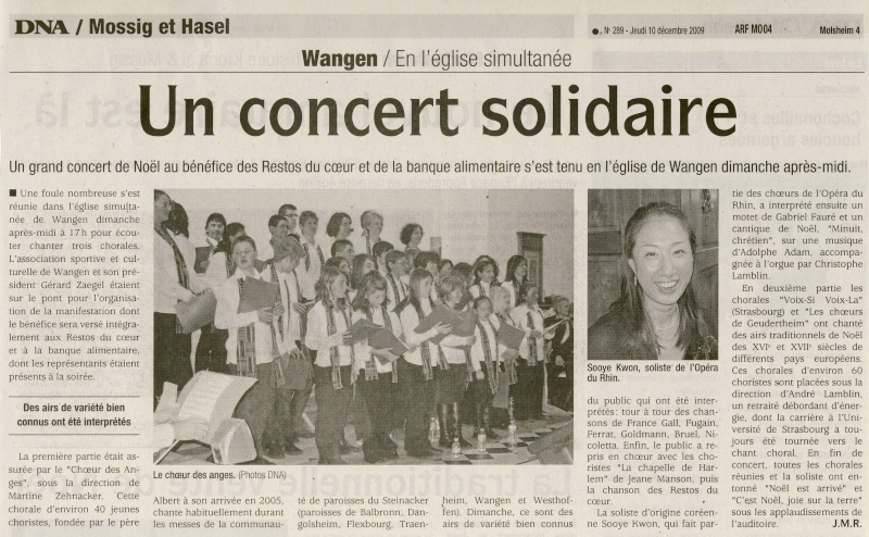 Concert de chant choral à Wangen le 6 décembre 2009 à 17h Image010