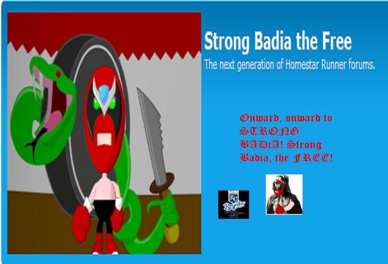 An Illustrated History of Strong Badia the Free Sbtf910