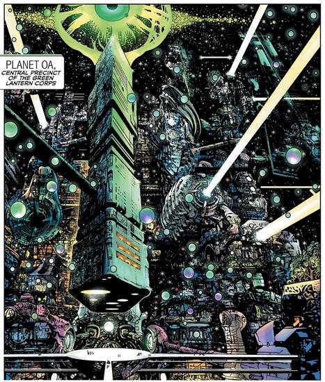 A normal life [ Hal Jordan / Aya] Oa10