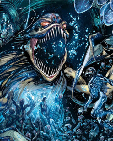 The lost people of Atlantis (Orm/ Mera) Trench11
