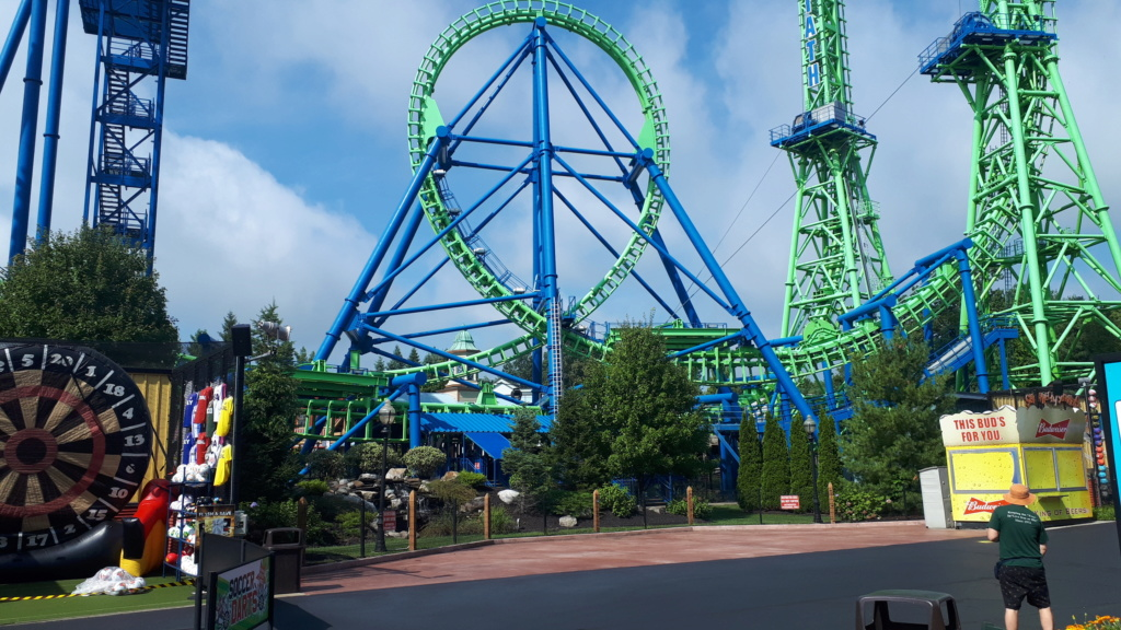Six Flags New England 20190812