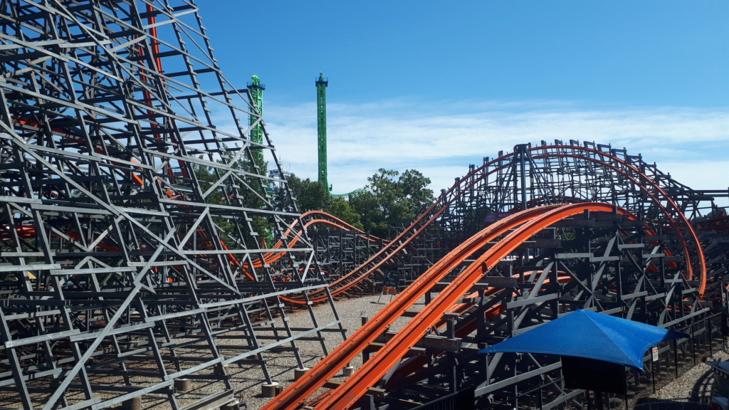 Six Flags New England 20190820