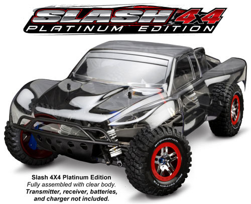Traxxas Slash 4x4 Platinum Edition out Dec 21st 1_16910
