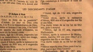 le texte d'Adam à Noé 0110