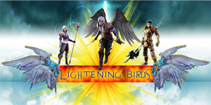 Lightening Birds