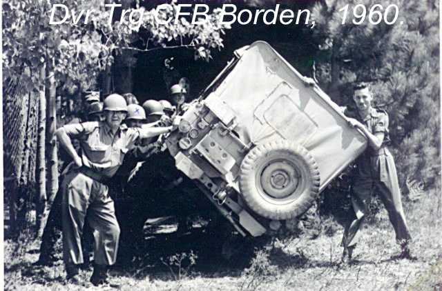 Photos of Canadian Soldiers Wearing U.S. M1 Helmets - 1960 010-dr10