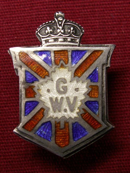 Great War Veteran Badge Cwbadg10