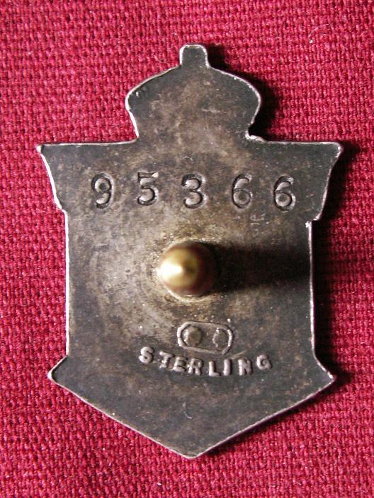 Great War Veteran Badge Cwbadg11