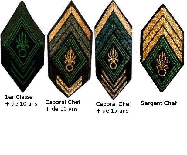 Les Grades a la Légion Etrangère Galon_11