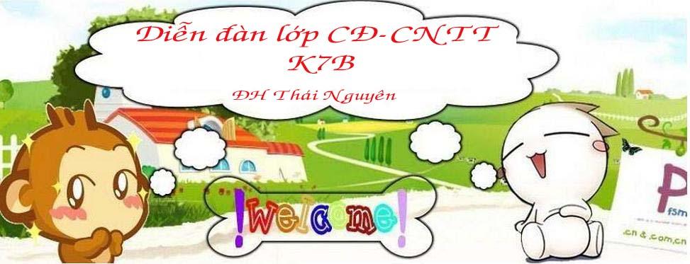 Cao Đẳng CNTT K7B