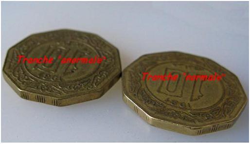 Des monnaies dites tranche A et d'autre tranche B 10_da_12