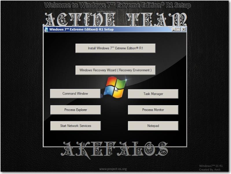 Windows 7™ Extreme Edition 32BIT -  Pass: ActiVe Team 1zpt8h10