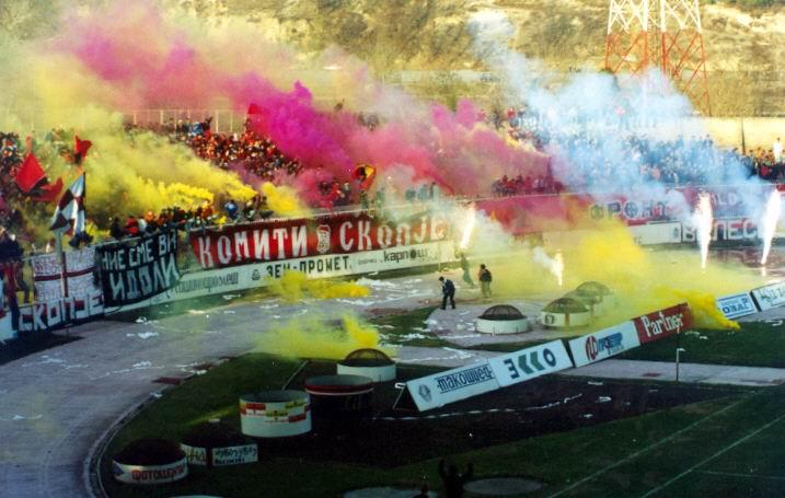 Ultras Choreos (Pyro, Flags, Smokes) 9n10