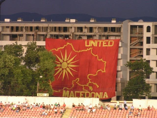 Ultras Choreos (Pyro, Flags, Smokes) Vardar11