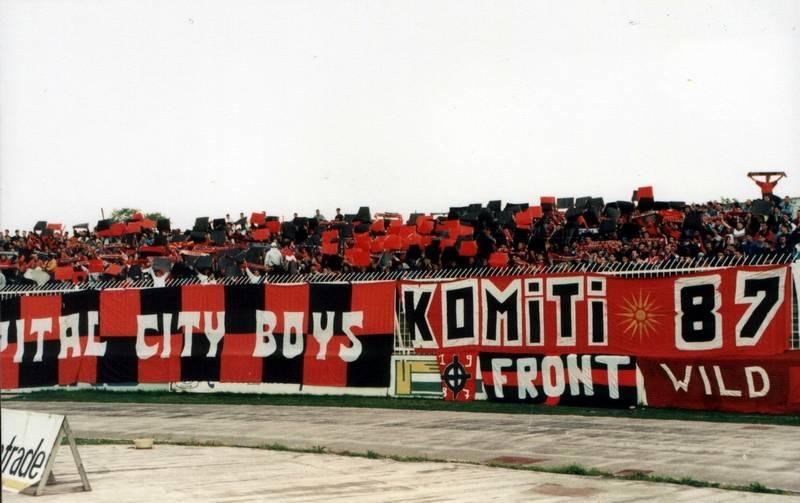 Ultras Choreos (Pyro, Flags, Smokes) Vardar12