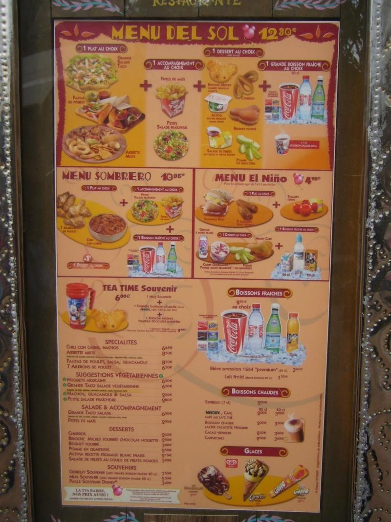 Fuente del Oro Restaurante (carte p.9) P1060410