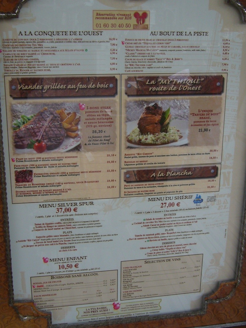carte des restaurants P1060514