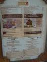 cartes des restaurants à table P1060514