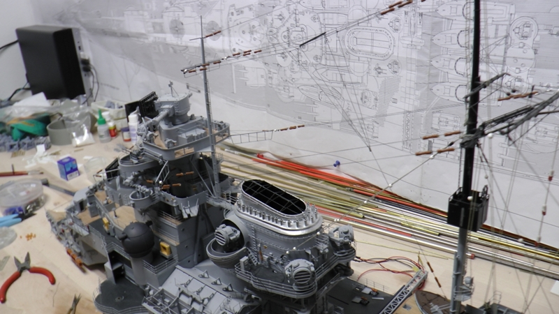 Bau der Bismarck in 1:100  - Seite 24 S1210026