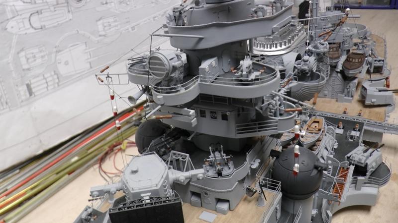 Bau der Bismarck in 1:100  - Seite 24 S1290014