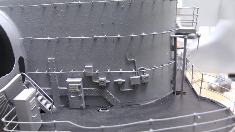 Bismarck 1:100 nur die Aufbauten  - Seite 18 S1370015