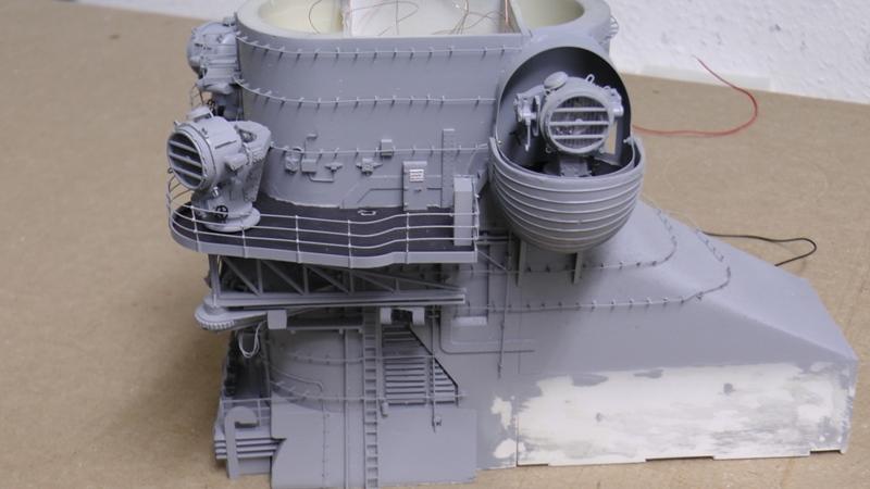 Bismarck 1:100 nur die Aufbauten  - Seite 18 S1370016