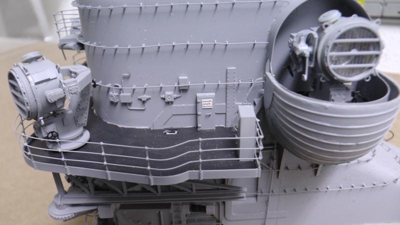 Bismarck 1:100 nur die Aufbauten  - Seite 18 S1370017