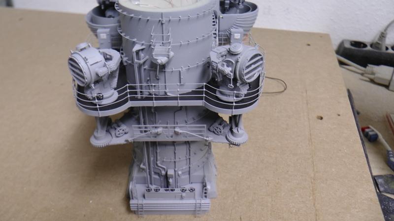 Bismarck 1:100 nur die Aufbauten  - Seite 18 S1370018