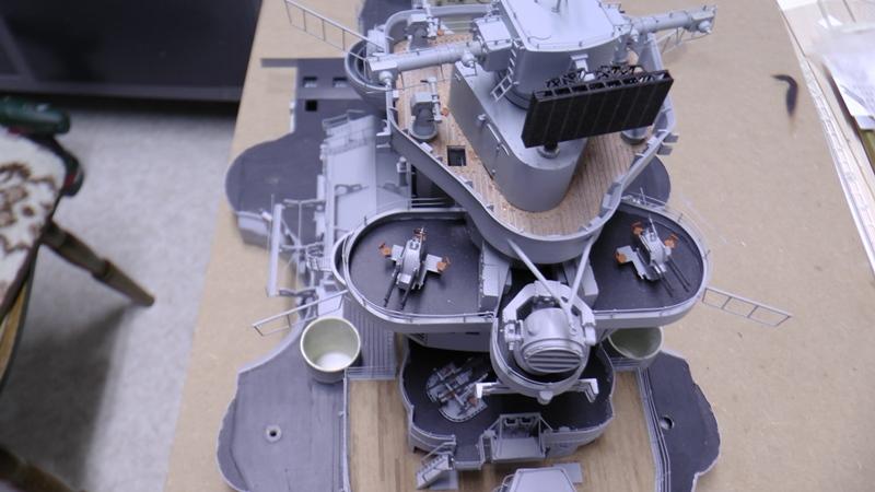 Bismarck 1:100 nur die Aufbauten  - Seite 19 S1510014