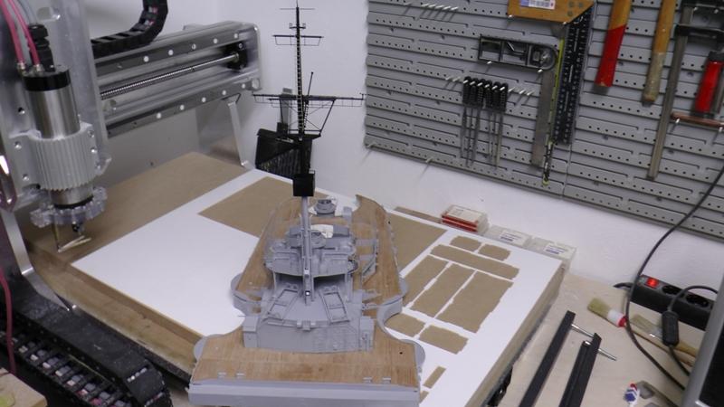 Bismarck 1:100 nur die Aufbauten  - Seite 19 S1600013
