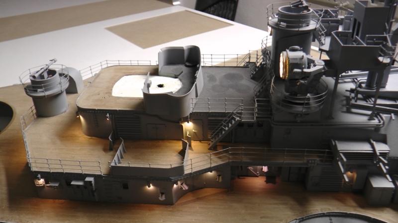 Bismarck 1:100 nur die Aufbauten  - Seite 19 S1600024