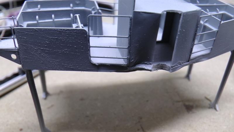 Bismarck 1:100 nur die Aufbauten  - Seite 19 S1610011