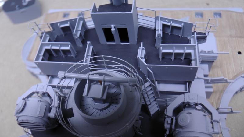 Bismarck 1:100 nur die Aufbauten  - Seite 19 S1630011