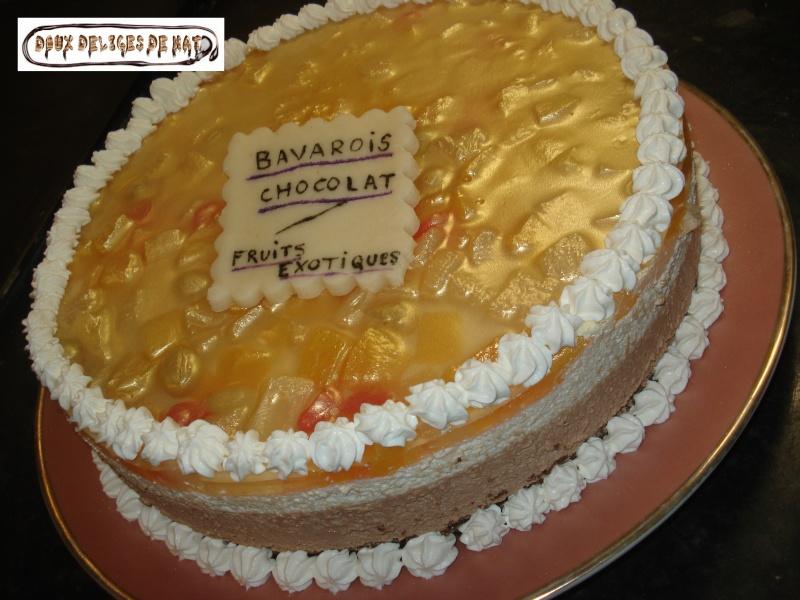 Bavarois aux fruits exotiques Bavaro18