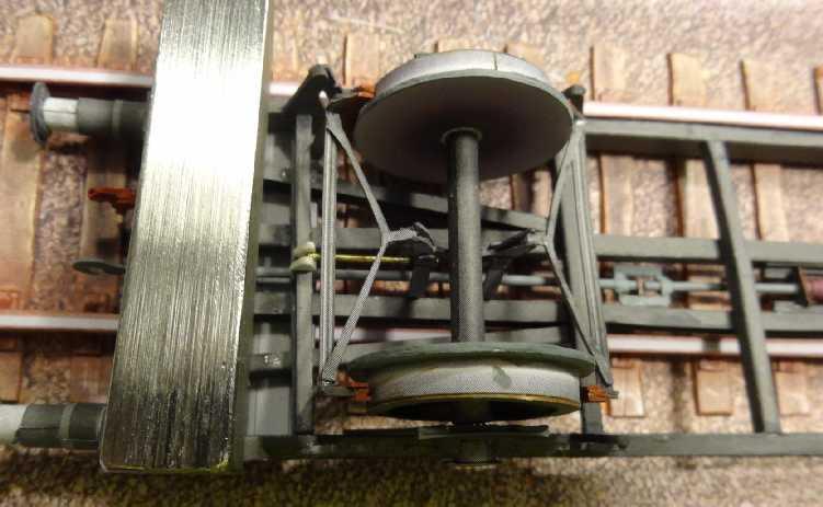 Kohlensäure-Kesselwagen, 1:45 vom ADW-Verlag Dsc02629