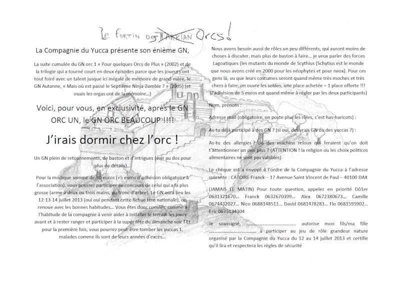 """GN Yucca - """"J'irais dormir chez l'orc"""" 12-14 juillet 2013 Ins210"""