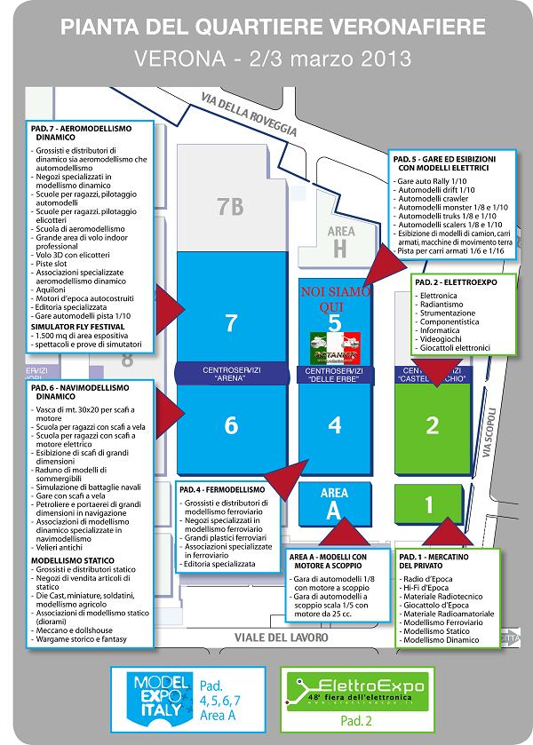 Model Expo Italy Verona 2-3 Marzo Adesioni Pianta10