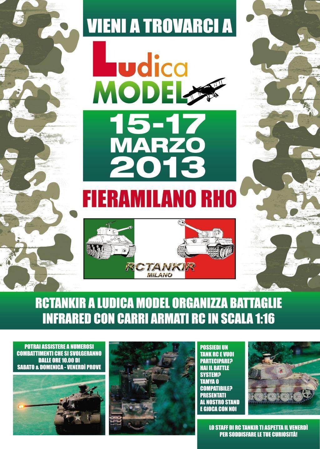 RCTANKIR a Ludica Model Milano 15-16-17 Marzo Provaf12