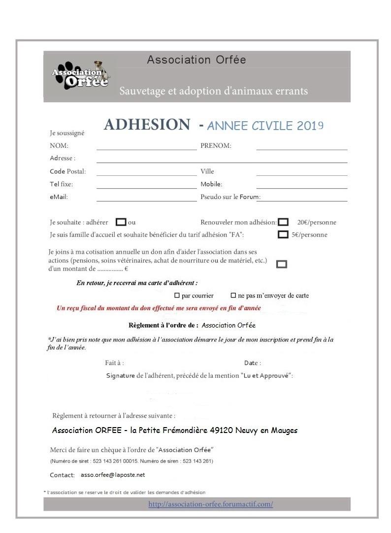 Bulletin adhésion 2019 Adhzos10